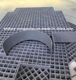 Reja de GRP/reja modificada para requisitos particulares con el borde cerrado