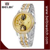 Belbi Dame Dial Design Anoplog met het Goede Geluk van het Horloge voor u