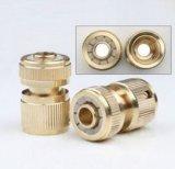 Connecteur rapide du flexible de raccord en laiton Coulpling et arrêt de l'eau