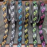 La vente courante d'usine Polyster/bande en nylon de sangle de jacquard pour le poussoir chausse des accessoires