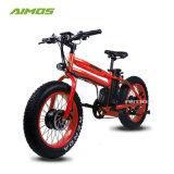 Conception unique Smart 20pouces pneu Fat vélo électrique avec moteur double