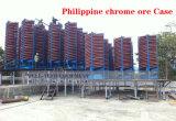 Hydrocyclone para procesamiento de minerales como un clasificador