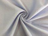 Bleu du tissu de Casualwear de coton (HD1936010)