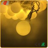 Lumières de chaîne de caractères de rideau en Noël de DEL