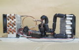 Unidades refrigeradas a ar do condicionador de ar da C.C. das unidades de Refrigeration da C.C. da C.C. 12V24V48V de Purswave St19A mini, com capacidade do compressor 400W da C.C. mini