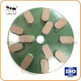 Green 12 Teeth Polishing Plate Polishing Disc for Hard Granite