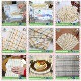 Tissu de nettoyage non-tissé remplaçable de Microfiber pour le ménage de cuisine