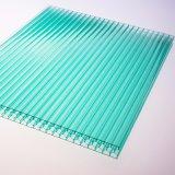 Hoja del policarbonato del panal de la absorción sana para el invernadero;