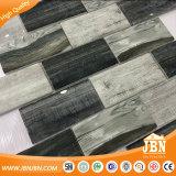 Best-Selling diseño madera mosaico Mosaico de vidrio de la pared (V649002)