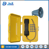 Telefon-Notruftelefon des VoIP Staub-Beweis-IP67, das industrielles Telefon paginiert