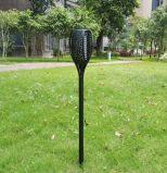 Venta caliente LED 2W de ABS con protección IP65 llama baile al aire libre Jardín de Luz Solar