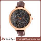 형식 숙녀 시계 사치품 시계 석영 방수 스포츠 시계 우연한 가죽 손목 시계