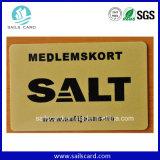 Cartão de PVC-Dourado metálico