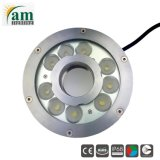 IP68 27W RGB LEDのプールはLEDの水中噴水ライトをつける