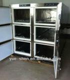 Горячая продажа низкая цена 6 органы медицинского морге холодильник морга морозильной камере