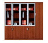 ディバイダのキャビネットの家具の木製の振動ドアの安い本箱(SZ-FCT604)