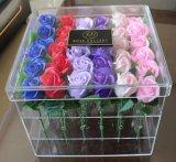 Kundenspezifische Qualitäts-Plastikacrylblumen-verpackenkasten