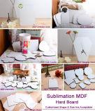 Oval-/Vierecks-Sublimation MDFDoorplate für Tür-Dekoration
