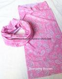 La Chine usine produit OEM Custom Pink Paisley Polyester Tubies Hoorag magique de snowboard