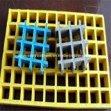 Grilles de fibre de verre du poids léger FRP/GRP en verre de fibre