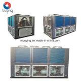 Refrigeratore di acqua raffreddato di refrigerazione della vite dell'aria di sistema dell'acqua