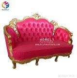 Klassisches Sitzsofa-Weinlese-Couch-Wohnzimmer der Entwurfs-Hotel-Ausgangsmöbel-drei