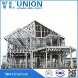 Estrutura de aço Prefab House para armazém, oficina, fábrica, recordações, Villa
