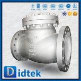 Didtek 12のインチWcbは弁水のための振動小切手フランジを付けたようになった