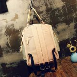 Lienzo de estilo japonés Top-Handle adolescentes Casual Mochila mochila de viaje (Biblioteca Digital Mundial0930)