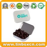 Mini piccoli stagni provvisti di cardini del cioccolato del metallo per il contenitore impaccante di regalo