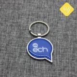 Creatore su ordinazione di Keychain di stampa di Expoxy della foto del campione all'ingrosso della fotografia