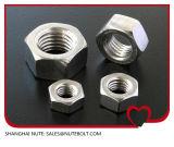 En acier inoxydable 304 316 d'écrous hexagonaux M5 DIN934