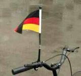 Выдвиженческий дешевый изготовленный на заказ флаг велосипеда флага Bike печатание