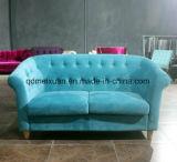 В гостиной современного досуга Новая Классическая комбинация ткань искусства диван сжатое европейской аристократии (M-X3503)