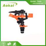Spruzzatore di plastica di impulso del metallo della pistola dello spruzzatore del giardino con il punto
