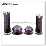 Os logotipos personalizados novo design da cor da amostra de plástico reciclado jarros de cosméticos