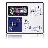 Timestrip 2개 - 8개 섭씨 온도 찬 사슬 감시가 완전한 시간 임시 직원에 의하여 레테르를 붙인다