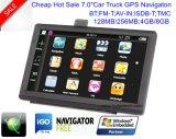 """OEM Wince 7.0 """" voiture camion Marine Navigation GPS avec transmetteur FM, AV-in de la caméra arrière,système de navigation GPS de poche pour téléphone mobile Bluetooth,TMC Tracker,TV"""