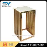 Wohnzimmer-Möbel-Goldmetallblumen-Standplatz