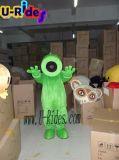 Piante contro il costume della mascotte delle zombie per fare pubblicità