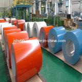 Alta qualidade PPGI Prepainted 914-1250mm de largura da bobina de aço galvanizado