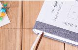 2018 L'École d'alimentation papier à couverture rigide pour ordinateur portable d'impression personnalisé