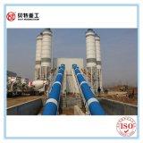Aprontar a maquinaria de tratamento por lotes concreta de construção de planta da mistura