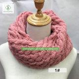 Горячие женщины зимы сбывания грелку шеи шарфа безграничности
