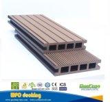 Europa al aire libre compuesto de plástico estándar de madera hueca WPC techado