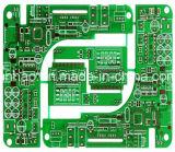 Doble - Fr4 lateral Anto con la máscara de la soldadura del verde de 2 capas