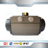Le filetage de l'actionneur pneumatique en aluminium 3PC Clapet à bille