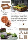 Stapelbare Ceramische Pot met Bed van de Tuin van de Bloem van de Planter het Pot Opgeheven