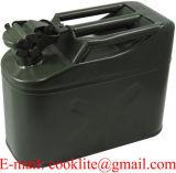 Jerrycan van de Tank van het Staal van de Brandstof van het Gas van de Stijl van de NAVO de Militaire 5 Liter