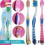 Nuevo diseño de PP para el cuidado personal de la casa de adultos de Nylon Cepillo de dientes de forma